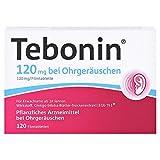 TEBONIN 120 mg bei Ohrgeräuschen Filmtabletten 120 St Filmtabletten