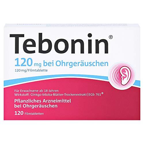 TEBONIN 120 mg bei Ohrgeräuschen Filmtabletten 120 St