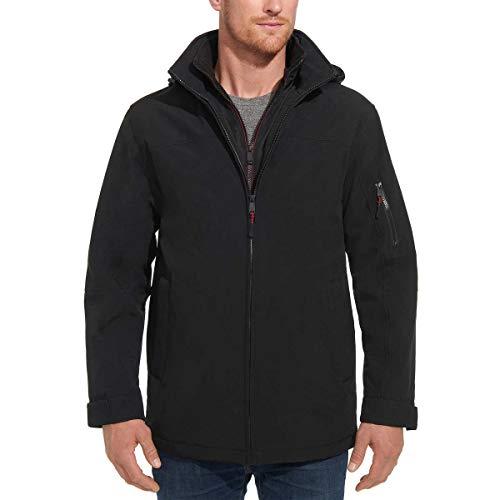 Weatherproof Men's Ultra Tech Stretch Jacket (S, Black)