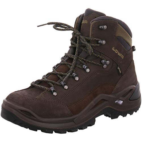 Lowa Renegade GTX Mid Wide - Slate/Olive