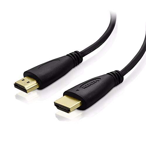Ventepro2a HDMI-Kabel (1 Meter und 4 K High Speed vergoldet, Version 2.0)