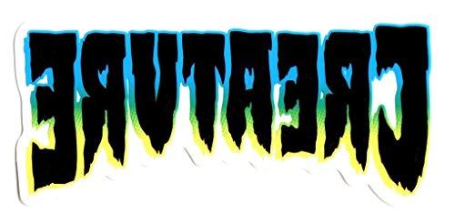 Creature Ass Backwards Skateboard Sticker - Sticker Graphic - Auto, Wall, Laptop, Cell, Truck Sticker for Windows, Cars, Trucks