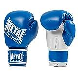 METAL BOXE MB200 - Guantes de Boxeo para Entrenamiento, Color Azul, Talla 12 oz