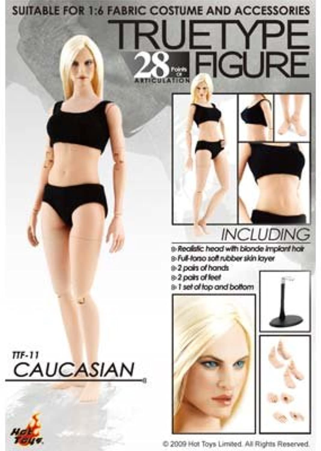 Hot Toys True Type 1 6 Scale Action Figure Body Body Body New