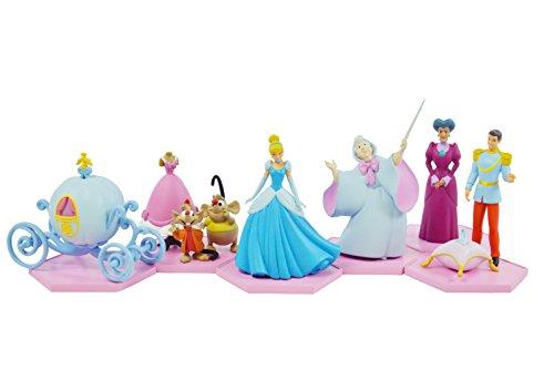 TOMY T8889EU1 - Disney Cinderella, Figuren zum Basteln Gra