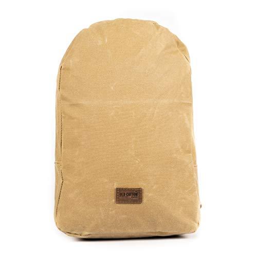 Old Cotton Cargo Mochila impermeable unisex Tablet Maletín Portátil Notebook… 7132 S BRET BAG BRND SRT (Tabacco)