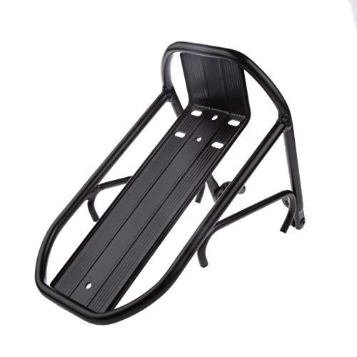 deanyi Mini Alloy Portaequipajes Delantero de Bicicleta Portabicicletas Estante Rack Bicicleta Freno Fit