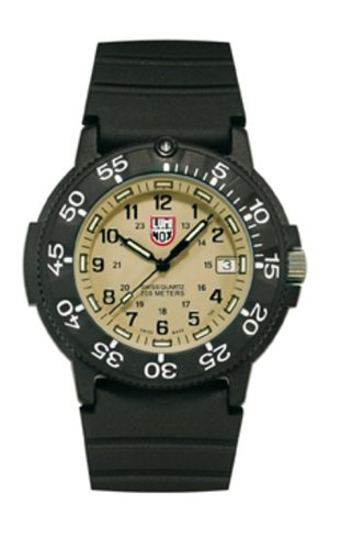 Luminox LU3013 Orginal navy Seals kaki quadrante orologio da uomo