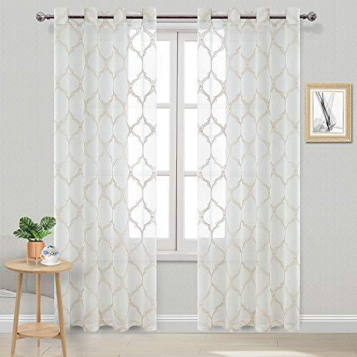 cortinas transparentes habitacion