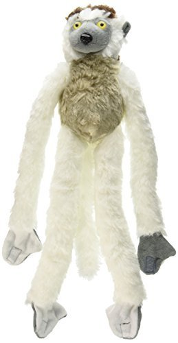 Wild Republic Verreaux Sifaka Plush, Monkey Stuffed Animal, Plush Toy, Gifts For Kids, Hanging 20