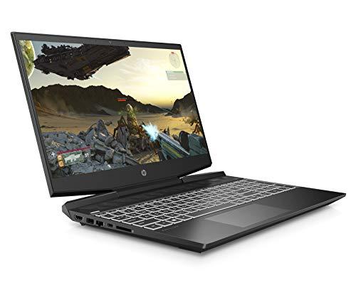 HP Pavilion 15-dk1007na 15.6 Inch Full HD Gaming Laptop - (Shadow Black) (Intel Core i5-10300H, NVIDIA GeForce GTX 1650 Ti (4 GB Dedicated) Graphics, 8 GB RAM, 512 GB SSD, Windows 10 Home)