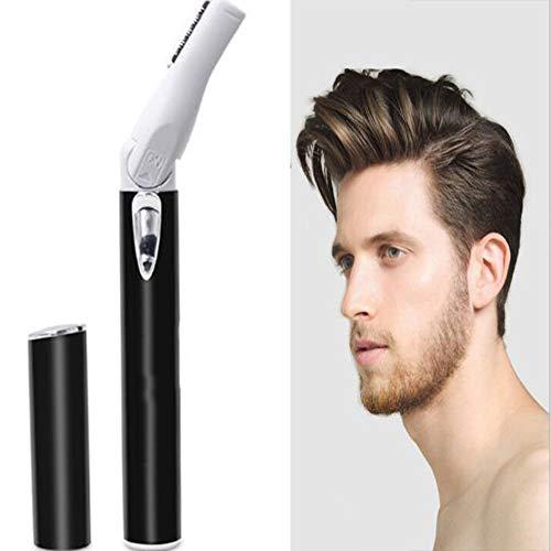 Elektrisch scheerapparaat voor heren, draagbare gezichts-haarverwijderaar voor dames, wenkbrauwtrimmer, elektrisch scheerapparaat om lichaamsharen te knippen
