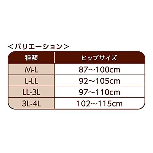 dacco(ダッコ)産じょくショーツママにやさしいショーツL-LLサイズ(ヒップ92cm~105cm)ブラウンドット1枚入
