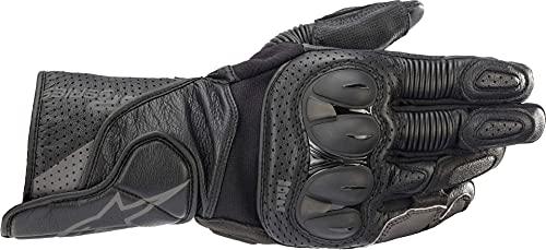 Alpinestars Motorradhandschuhe kurz Motorrad Handschuh SP-2 V3 Sporthandschuh schwarz/grau L, Unisex, Sportler, Ganzjährig, Leder
