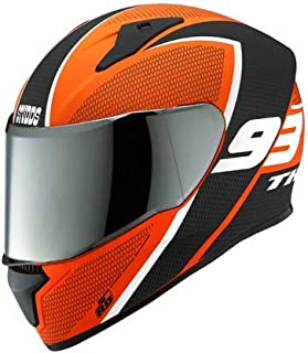 Studds Thunder D3 Matt Orange N6 M/R (L)