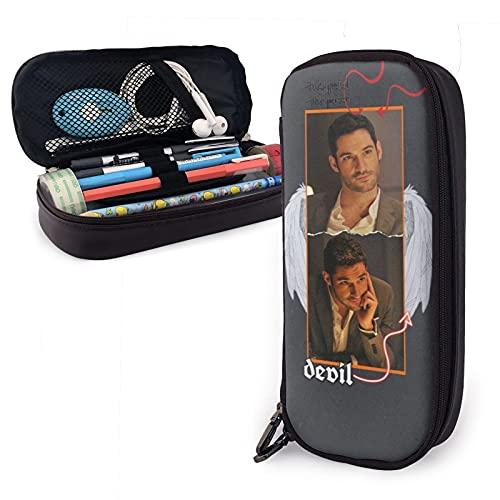ava Martell tv Merch Tom Ellis After The Fall The Biscuit Hammer Action Luci-fer - Bolsa para lápices de cosméticos, bolsa de almacenamiento de viaje grande, regalo para la escuela, examen de oficina