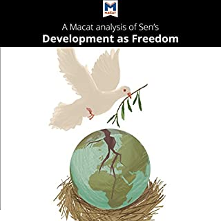 A Macat Analysis of Amartya Sen's Development as Freedom cover art