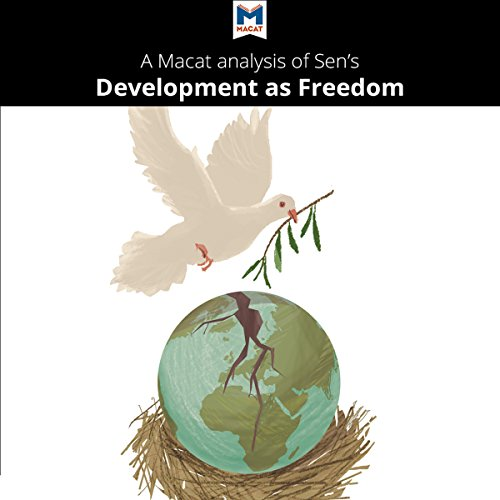 A Macat Analysis of Amartya Sen's Development as Freedom audiobook cover art