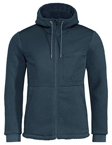 VAUDE Herren Men's Manukau Fleece Jacket Jacke, Steelblue, L