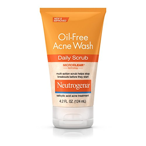 Neutrogena, Oil-Free Acne Wash Daily Scrub, 4.2 oz