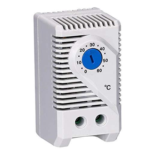 SDENSHI Interruptor Del Controlador Del Sensor de Temperatura Ajustable Del Termostato Mecánico de 0~60 Grados