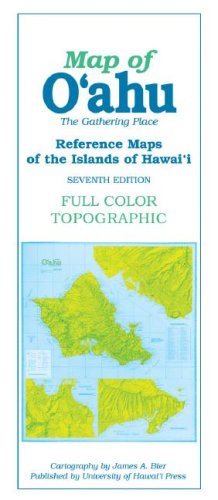 Map of O'Ahu: The Gathering Place, 7th Edition (Reference Maps of the Islands of Hawai'i)