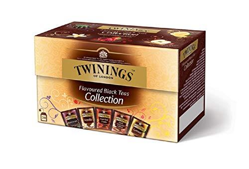 Twinings Tè Aromatizzati - Collection - Confezione Speciale con 5 Diverse Tè Fruttati - Quattro Frutti Rossi, Pesca, Vaniglia, Arancia & Cannella e English Garden (20 Bustine)