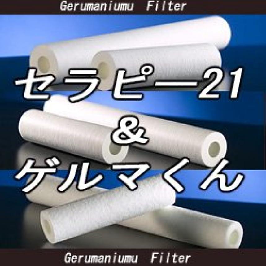 代表団海軍第二セラピー21?ゲルマくん【交換用フィルター 6本セット】ゲルマニウム温浴?温浴器