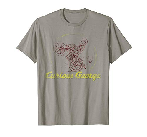 Curious George Classic Circle Logo Graphic T-Shirt