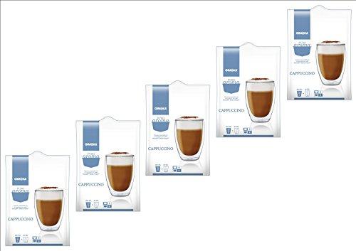 80 Cialde Capsule Compatibili Nescafe' Dolce Gusto Gimoka Cappuccino Originali