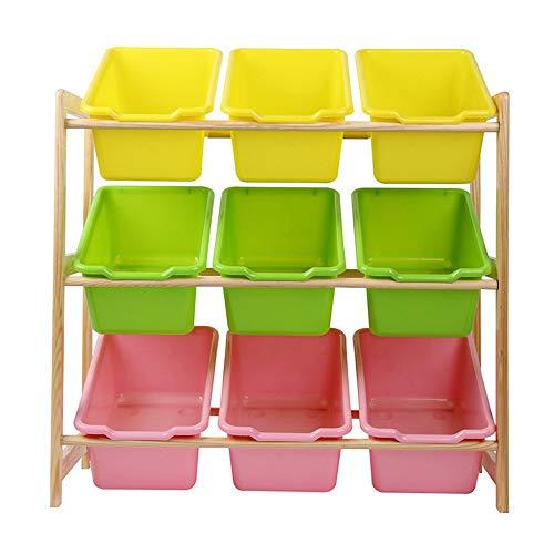 Opbergdoos voor kinderen Storage Basket - for het organiseren van Toy Storage baby speelgoed kinderen speelgoed hondenspeelgoed Babykleding Mand voor Bedroom (Color : Beige, Size : Free size)
