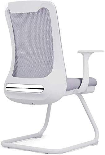 GSN Durable Mesh-Rückenlehne Mordern Bürostuhl Schrauben Slack Bis Bracket Struktur Optimale Unterstützung Einfache Montage Sessel (Color : Gray)