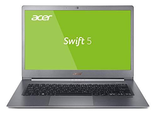 Acer Swift 5 (SF514-53T-573Y) 35,6 cm (14 Zoll Full-HD IPS Multi-Touch) Ultrabook (Intel Core i5-8265U, 8 GB RAM, 256 GB PCIe SSD, Intel UHD, Win 10) silber