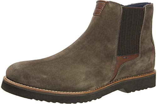 Sioux Herren Encanio-707 Chelsea Boots, Grau (Lead 002), 46 EU