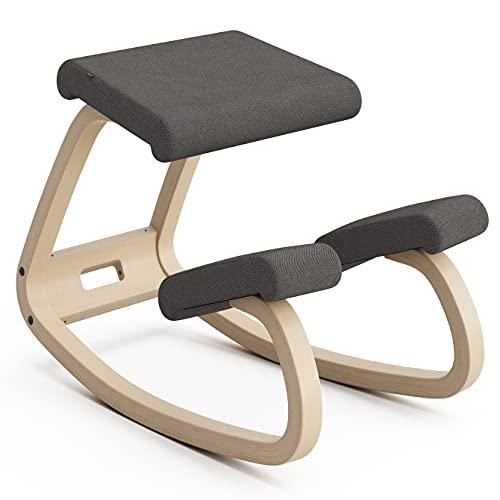 Variable Balans, butaca Original diseñada por Peter Opsvik - Naturaleza/Gris