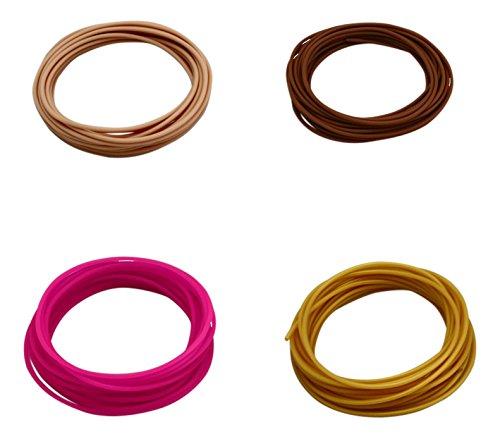 filaflex 4–2,85–1Elastic Filament für 3D Drucker, mehrfarbig, 4Stück