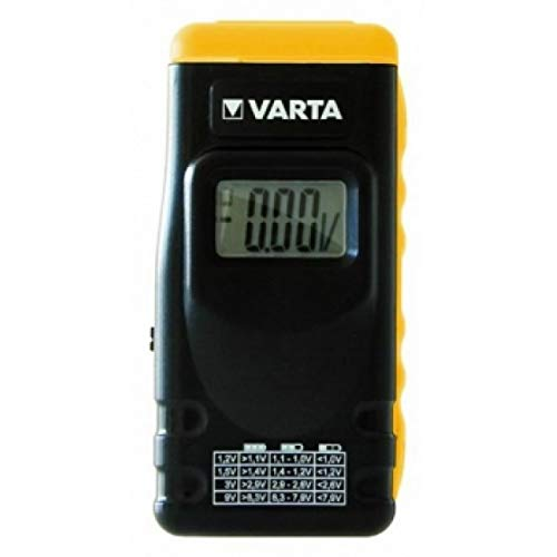 Batterie Prüfgerät mit LCD-Display für Batterien, Akkus und Knopfzellen