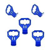 ZHITING 5 Piezas Kit de Soporte de Montaje de Sensor de Distancia ultrasónico de Dibujos Animados Azul HC-SR04
