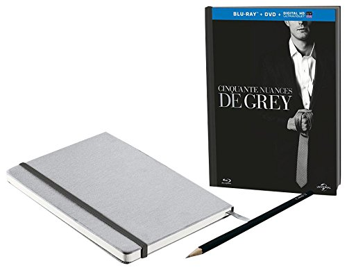 Cinquante Nuances de Grey Inclus Un Crayon et Un carnet de Notes [Combo Blu-Ray + DVD + Copie Digitale]