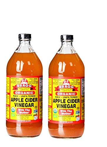 Braggs Organic Apple Cider Vinegar, 946ml x 2 (Double Pack)