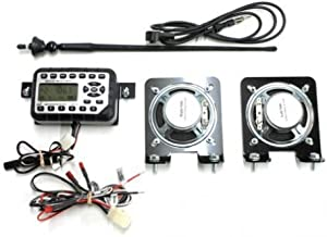 All States Ag Parts Jensen Mini Heavy-Duty Radio Kit for Skid Steer Compatible with John Deere 332E 328D 324E 323D 333D 319E 323E 329D 326D 318E 320E 332D 319D 326E 329E 320D 328E 318D 333E