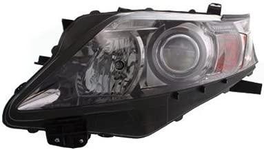 Crash Parts Plus Left Driver Side Headlight Head Lamp for 2010-2012 Lexus RX350