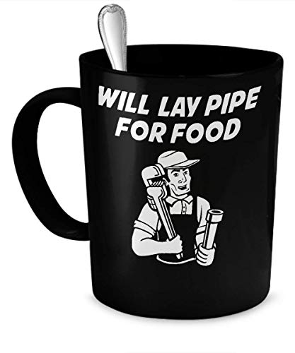 Jackgold Honey Will Lay Pipe for Food Mug (Heating, Color is...