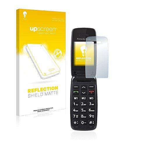 upscreen Entspiegelungs-Schutzfolie kompatibel mit Doro Primo 401 – Anti-Reflex Bildschirmschutz-Folie Matt