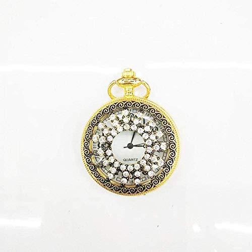 LLGG Reloj MéDico De Bolsillo Colgante,Reloj de Bolsillo Creativo Vintage, Reloj de Bolsillo Universal con Tapa abatible-8,Cuarzo Colgando Reloj De Bolsillo