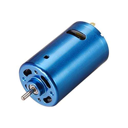 DealMux DC Motor 24 V 40000 RPM 2.2A Elektromotor Runde Welle für RC Boot Spielzeug Modell DIY Hobby