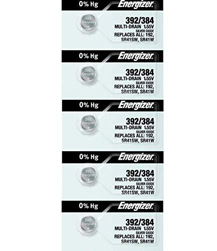 10 Energizer 392/384 Multi-Drain Batteries (Replaces LR41)