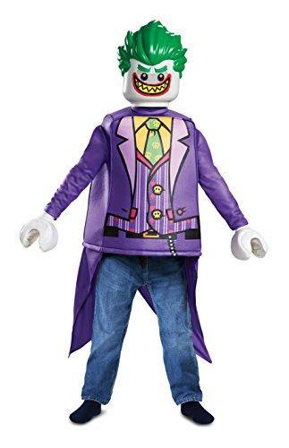Lego Batman Movie Der Joker Kinder Klassisch Kostüm Jungen Super Bösewicht Outfit - Klein
