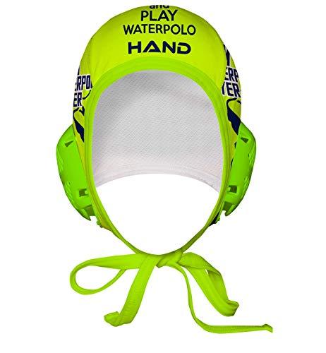 HAND SPORT Cuffia da Pallanuoto,Calottina Pallanuoto, MOD. I Am Waterpolo Professional, Unisex.