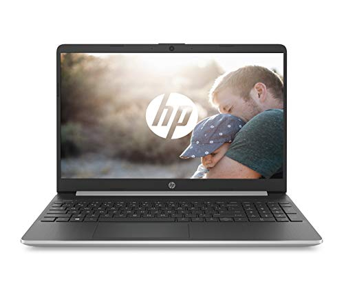 petit un compact Ordinateur portable HP 15s-fq0003nf 15,6 pouces HD argent (Intel Pentium Gold, 4 Go de RAM, 128 Go SSD, AZERTY,…
